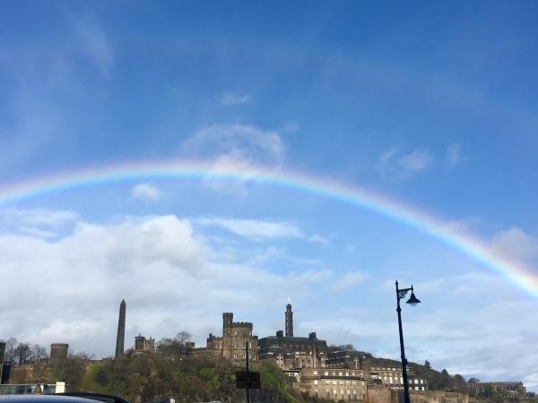 Scotland Double Rainbow