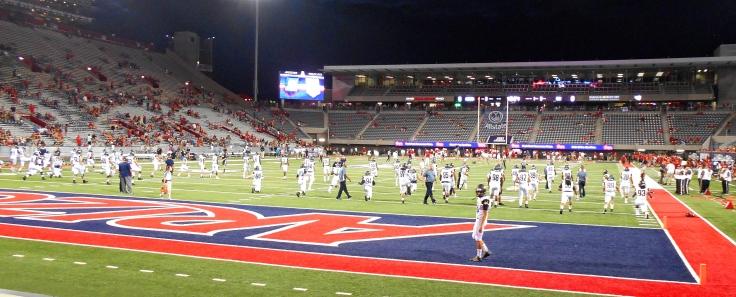 Stadium wide shot