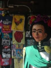 The famous Frida Kahlo.